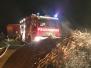 Brandeinsatz - 200 Heuballen in Flammen
